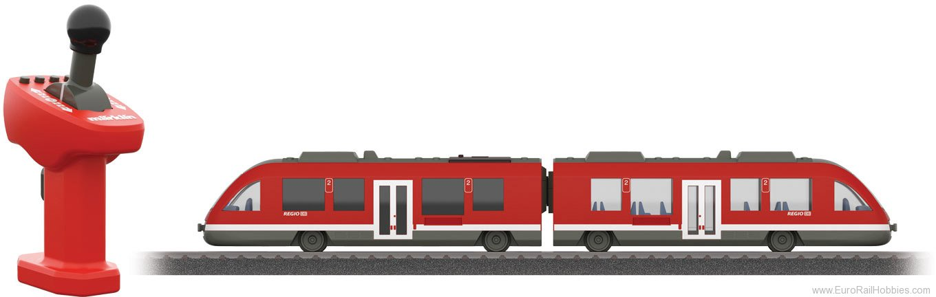 Marklin 36100 LINT Commuter Train with a Rechargeable Batte
