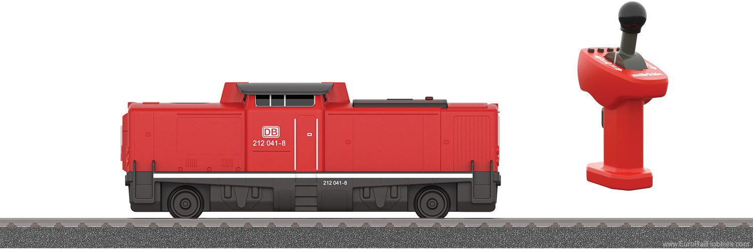 Marklin 36101 BR Class 212 Diesel Locomotive with Rechargea