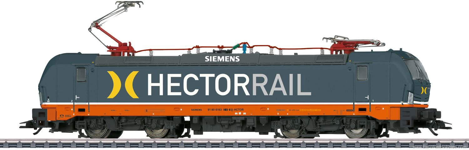 Marklin 36180 Hectorrail cl 193 Electric Locomotive, MFX w/
