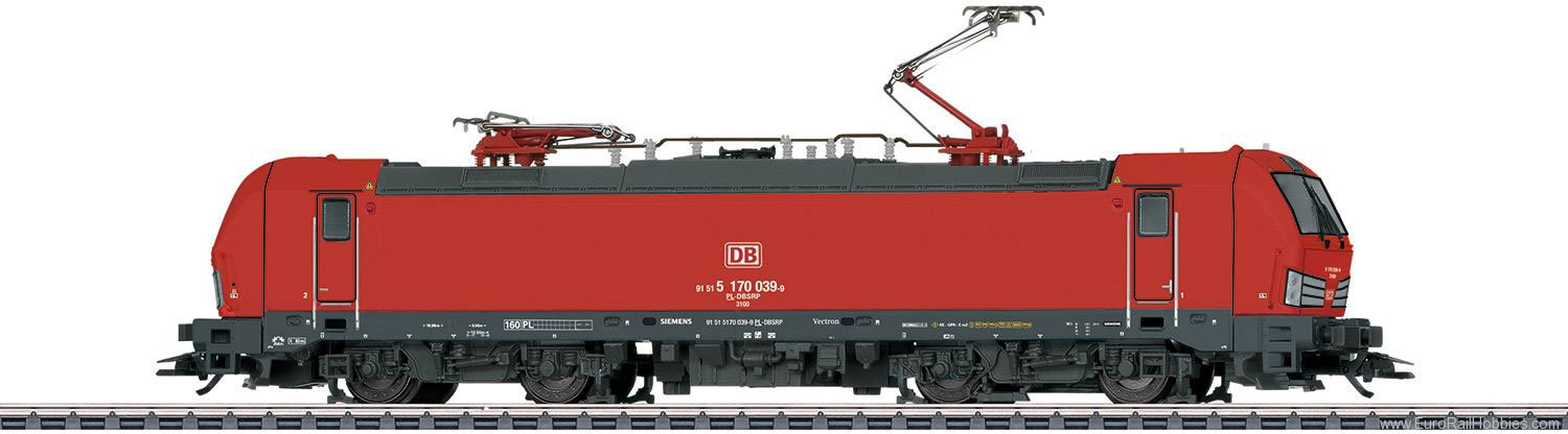 Marklin 36197 DB Schenker Rail cl 170 Electric Locomotive,