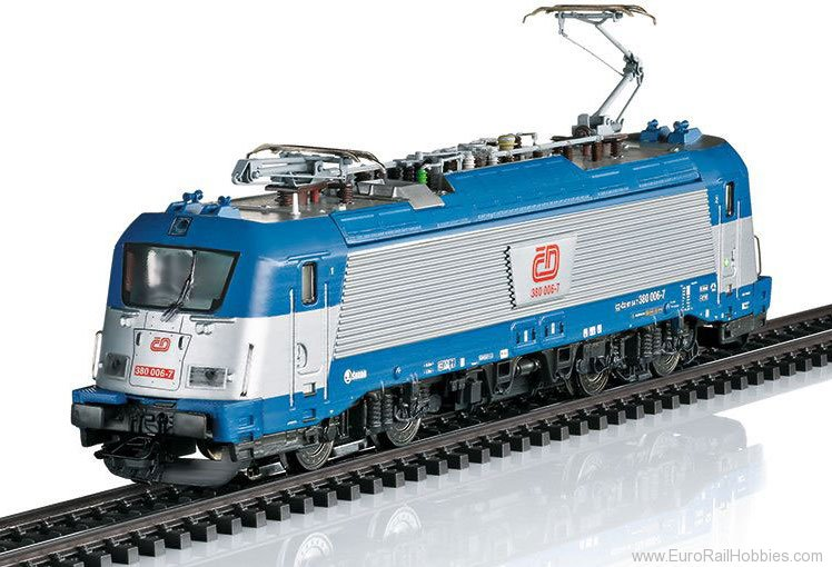Marklin 36203 ČD cl 380 Electric Locomotive,   MFX w/Sou