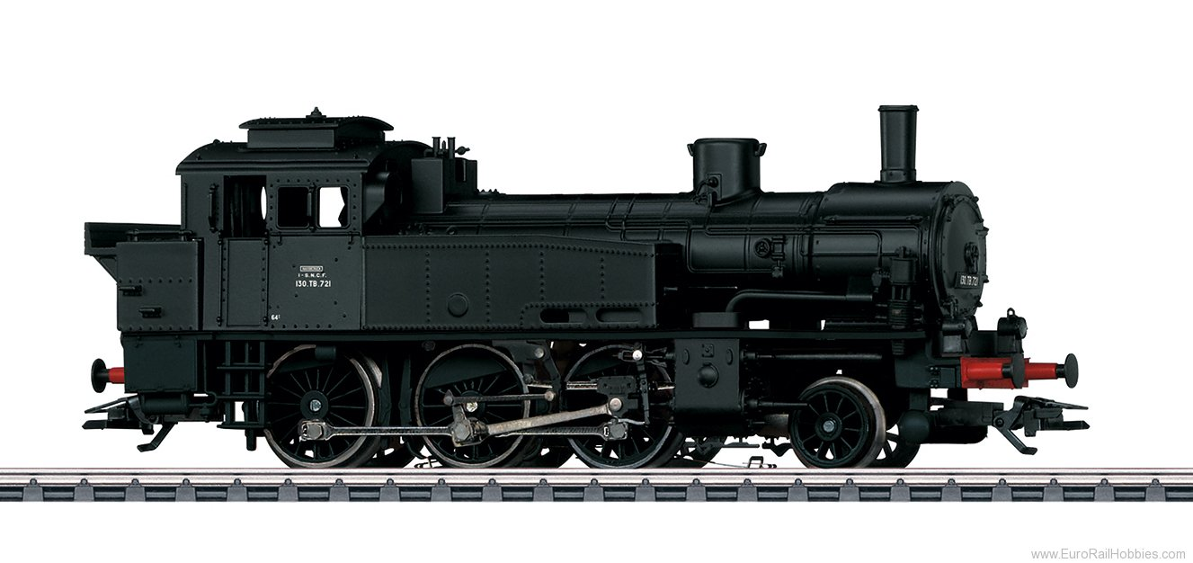 Marklin 36371 SNCF Steam Locomotive Serie 130 TB, MFX w/Sou