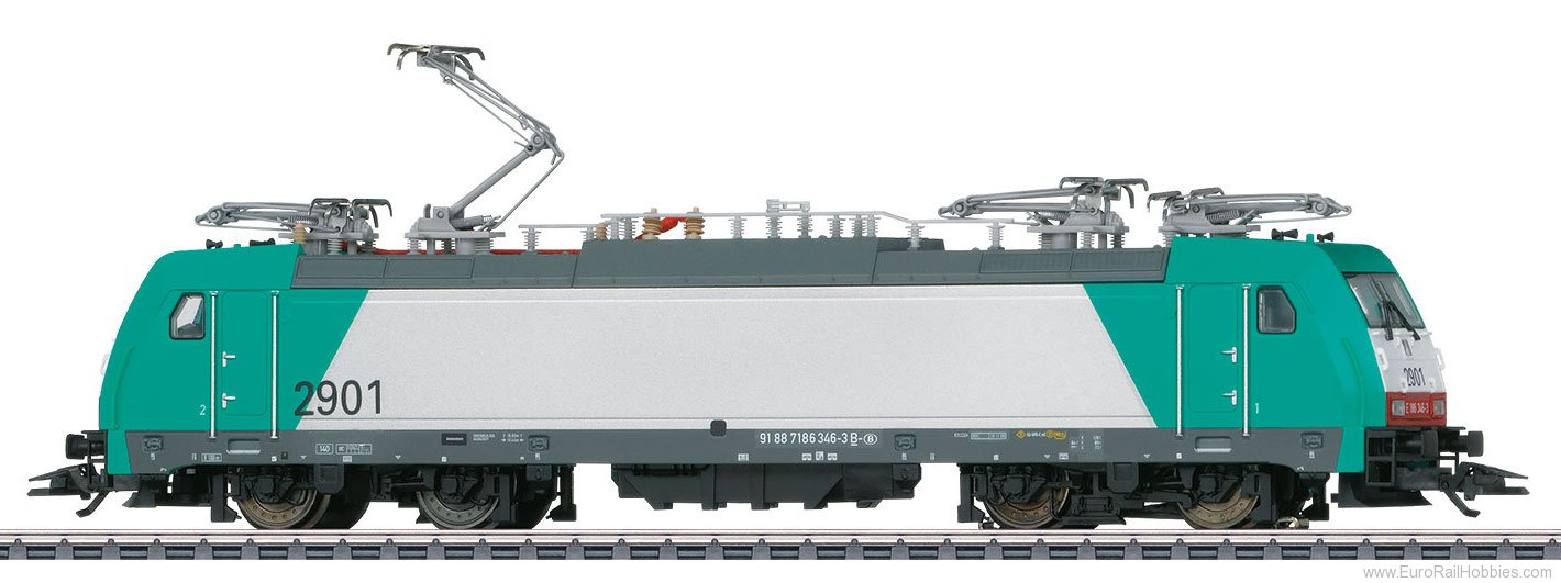 Marklin 36618 SNCB Class 29 Electric Locomotive, MFX w/Soun