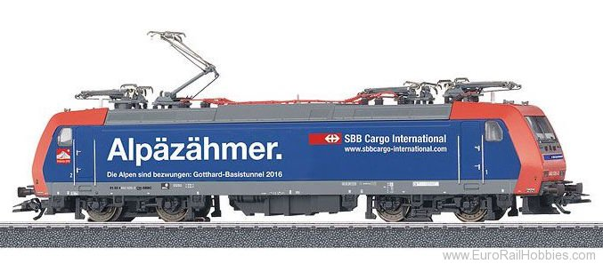 Marklin 36627 SBB Class 482 Electric Locomotive MFX w/Sound