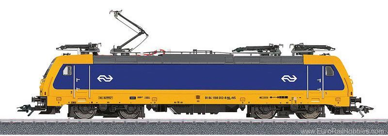 Marklin 36629 NS Class E 186 Electric Locomotive, MFX w/Sou