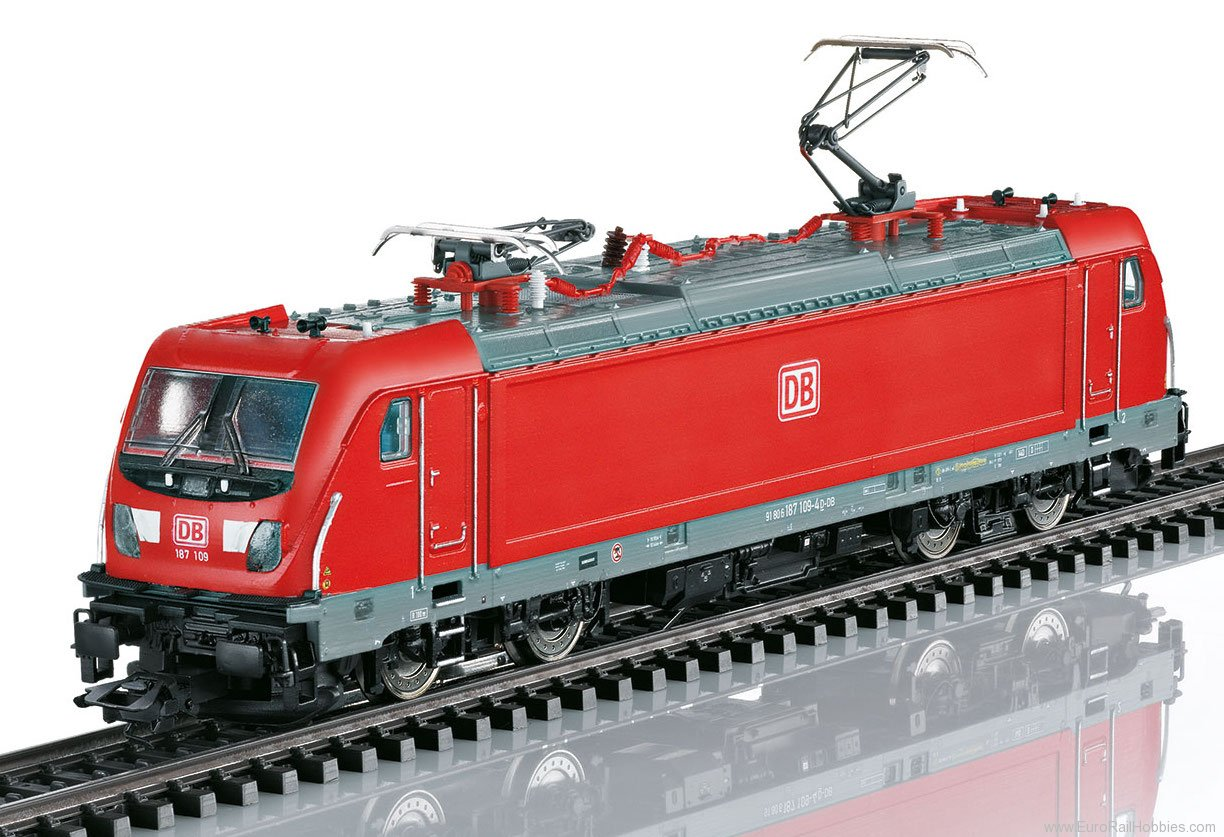 Marklin 36630 DB AG Class 187.1 Electric Locomotive, MFX w/