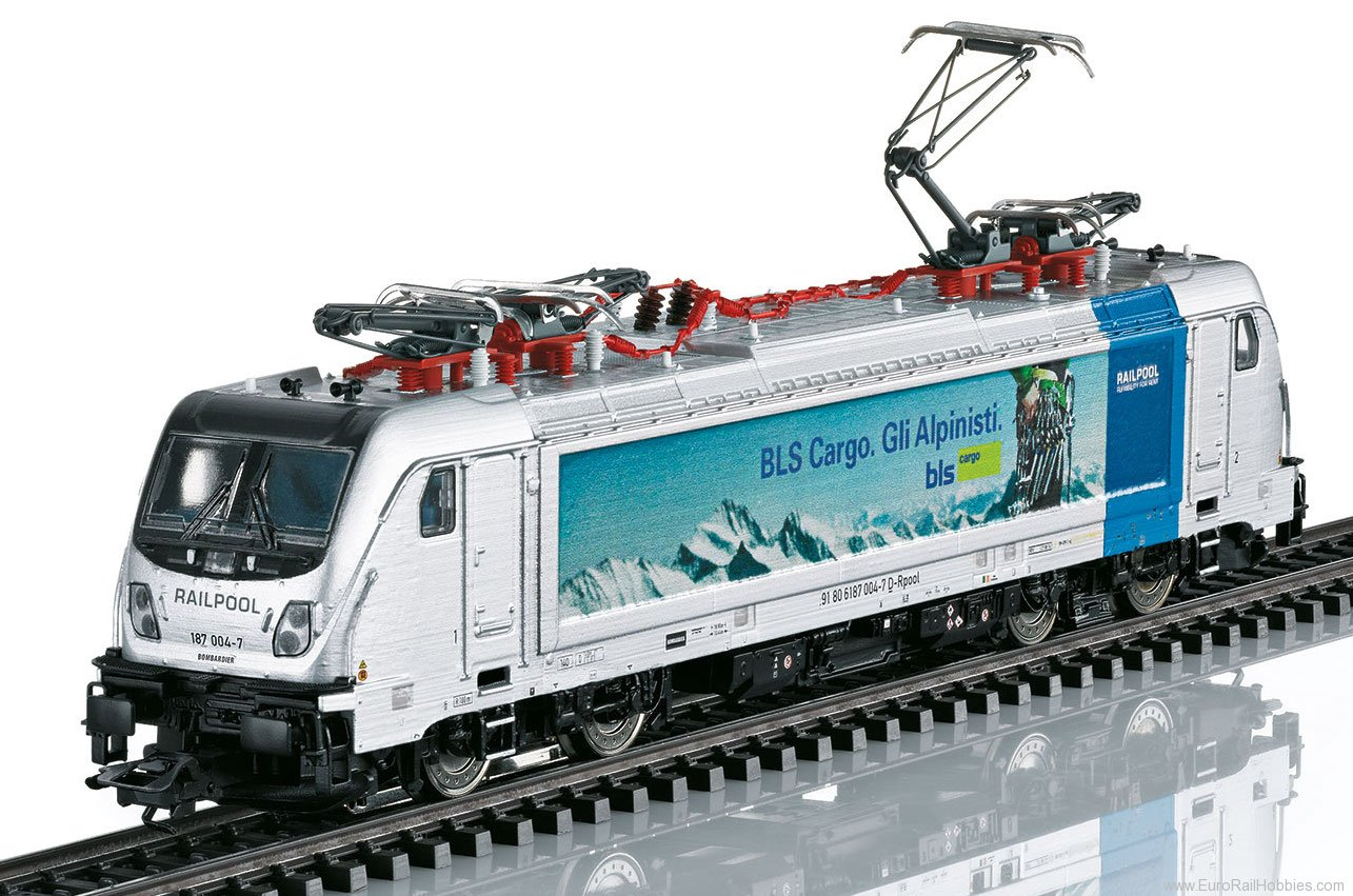 Marklin 36631 BLS Cargo Class 187.0 Electric Locomotive, MF