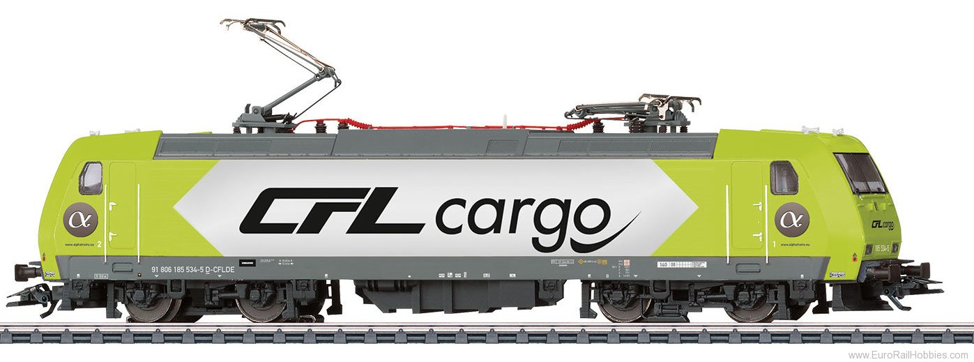 Marklin 36632 CFL Cargo Class 185 Electric Locomotive, MFX