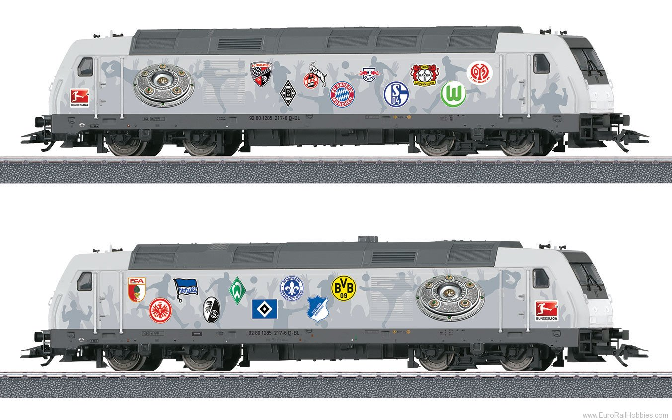 Marklin 36655 'Bundesliga' Class 285 Diesel Locomotive (Sta