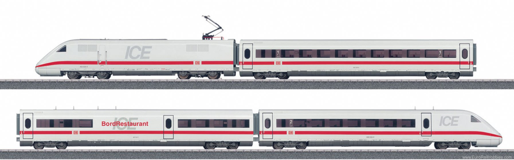 Marklin 36712 ICE 2 High-Speed Train (Marklin Start Up)