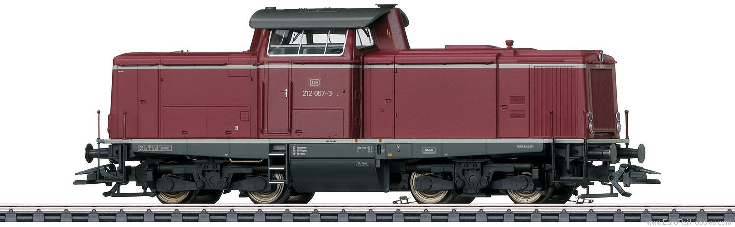 Marklin 37009 DB cl 212 Diesel Locomotive,  MFX w/Sound