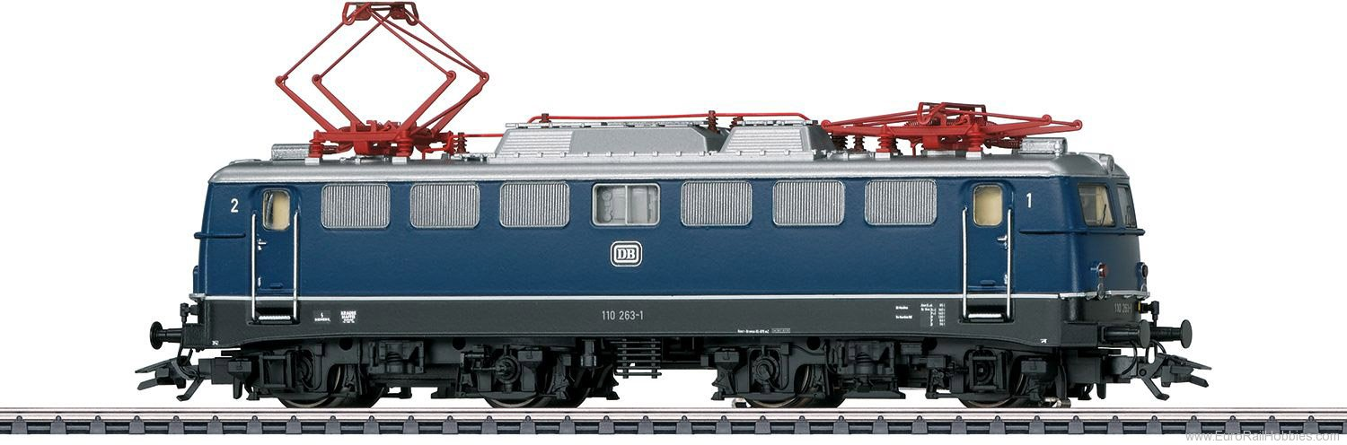 Marklin 37108 DB Class 110.1 Electric Locomotive MFX+ w/Sou