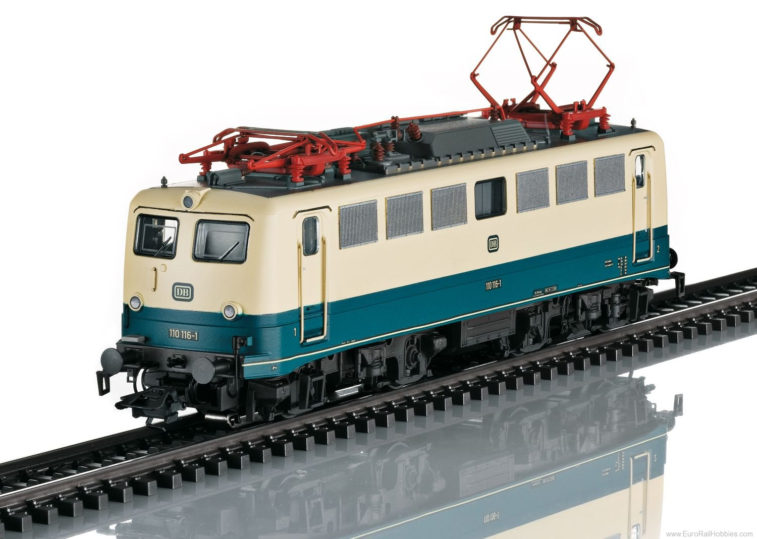 Marklin 37110 DB Class 110.1 Electric Locomotive (MHI Exclu
