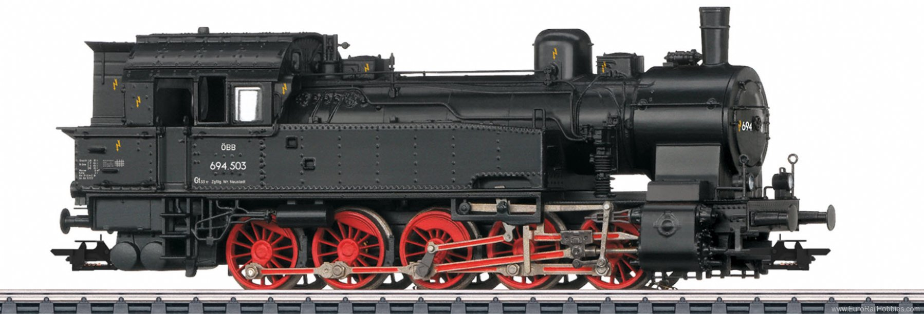 Marklin 37178 OBB Austrian cl 694 Steam Locomotive MFX+ w/S
