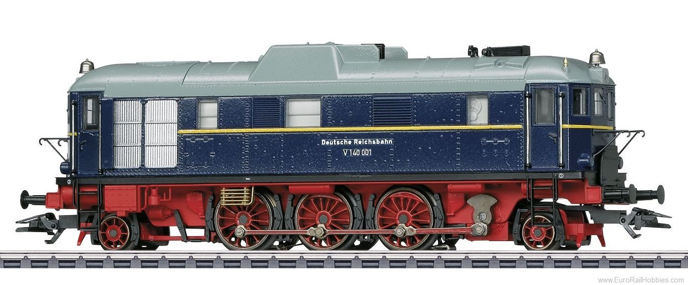 Marklin 37212 Class V 140 001 Diesel Hydraulic Locomotive M