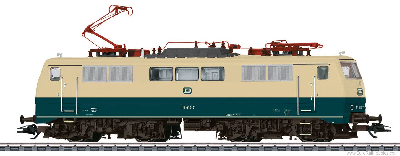 Marklin 37314 DB Class 111 Electric Locomotive, MFX+ w/Soun