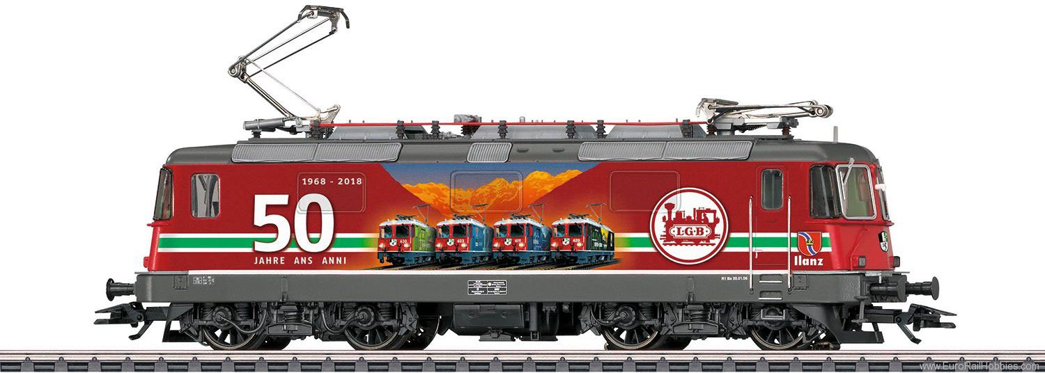 Marklin 37351 SBB cl Re 4/4 II 'LGB 50th Anniversary' Elect