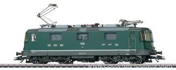 Marklin 37359 SBB cl 4/4 II Electric Locomotive, Green Live