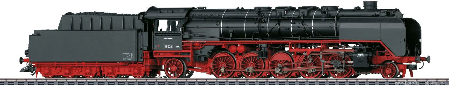 Marklin 37454 DB cl 45 Heavy Freight Steam Locomotive w/Ten