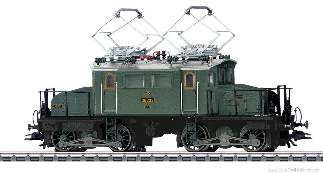 Marklin 37484 Bavarian State Railways Class EG 2x2/2 Electr