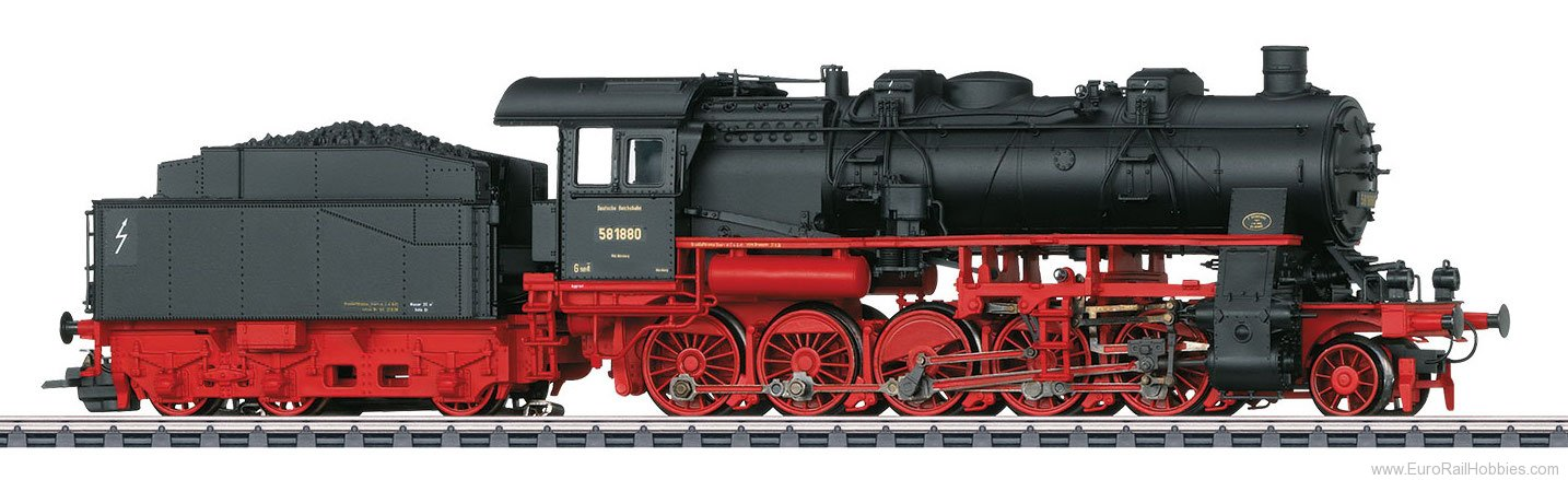 Marklin 37587 DRG Class 58.10-21 Freight Steam Locomotive,