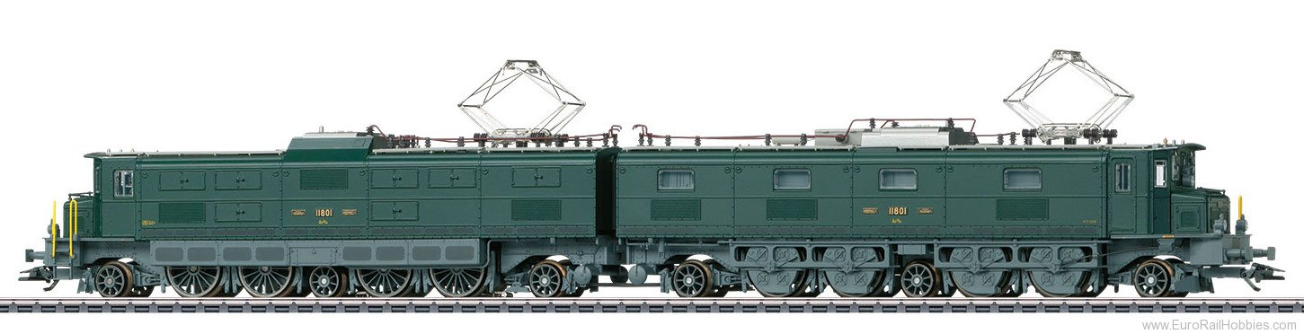 Marklin 37595 SBB Class Ae 8/14 Double Electric Locomotive,
