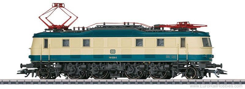 Marklin 37685 DB cl 118 Electric Locomotive MFX+ w/Sound (M