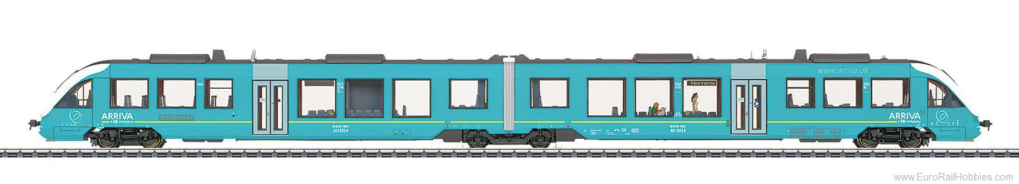 Marklin 37720 LINT 41 Diesel Powered Commuter Rail Car Trai