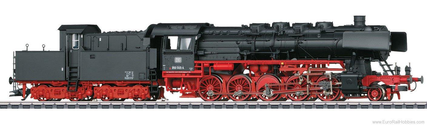 Marklin 37836 DB Class 050 Steam Freight Locomotive with Ca