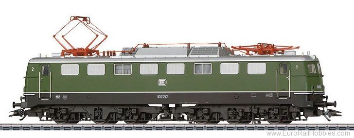 Marklin 37854 DB E 50 Electric Locomotive  MFX w/Sound