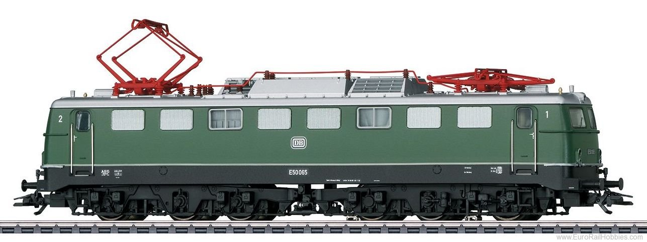 Marklin 37855 DB Class E 50 Electric Locomotive MFX+ w/Soun