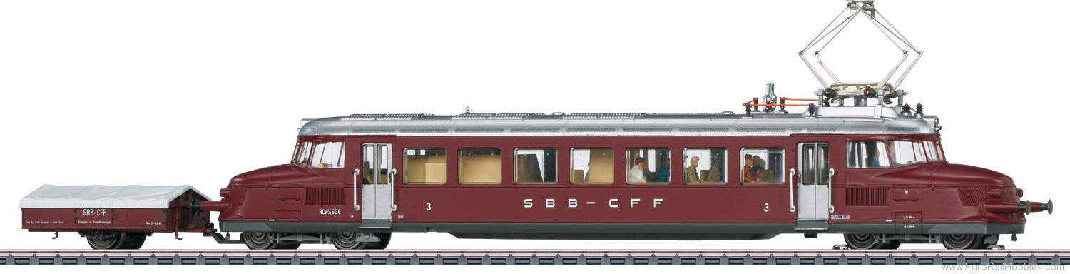 Marklin 37869 SBB Class RCe 2/4 Powered Rail Car 'Roter Pfe