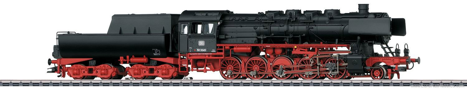 Marklin 37898 DB Class 50 Steam Freight Locomotive w/Tub-St