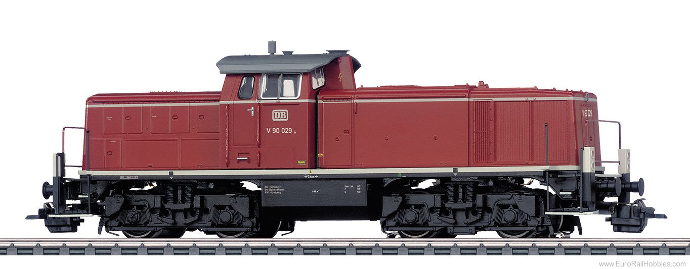 Marklin 37909 DB Class V 90 Diesel Locomotive MFX+ w/Sound