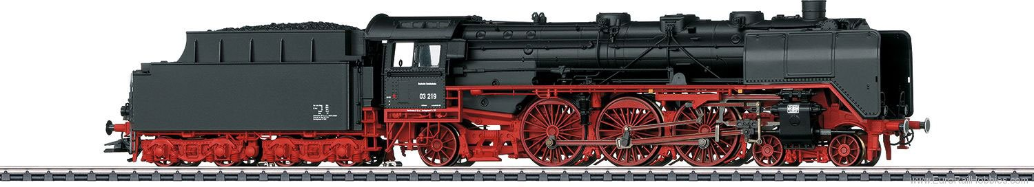 Marklin 37949 DB cl 03 Passenger Steam Locomotive w/Tender,