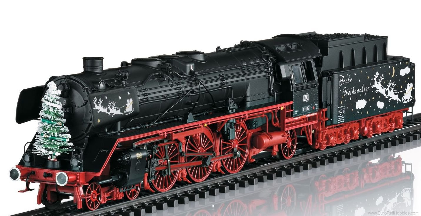 Marklin 39006 DB Class 01 'Merry Christmas' Steam Locomotiv