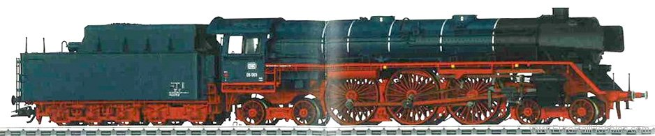 Marklin 39052 DB Class 05 Express Steam Locomotive with a T