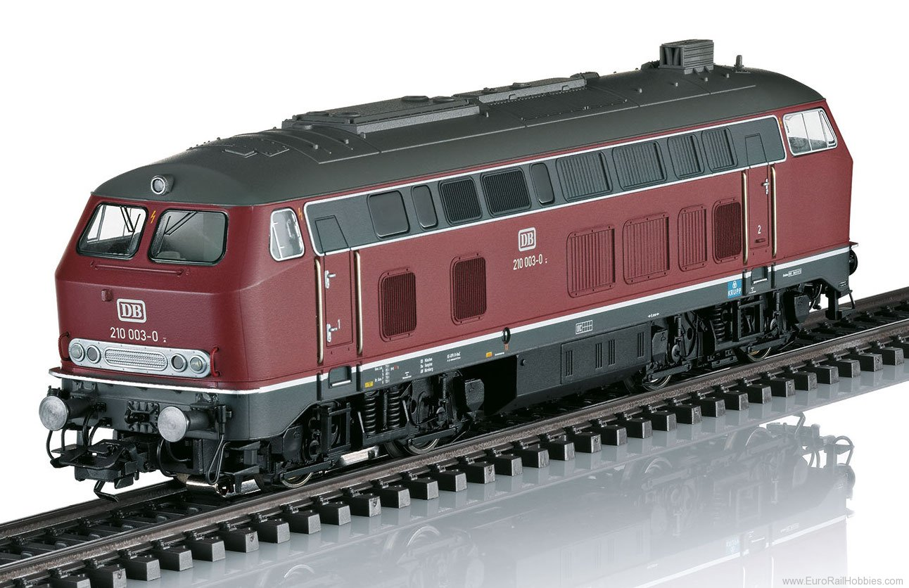 Marklin 39188 DB Class 210 Diesel Locomotive, MFX+ w/Sound