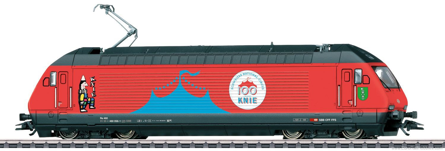 Marklin 39468 SBB Class Re 460 Electric Locomotive 'Circus