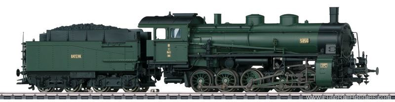 Marklin 39550 Bavarian cl G 5/5 Freight Steam Locomotive w/