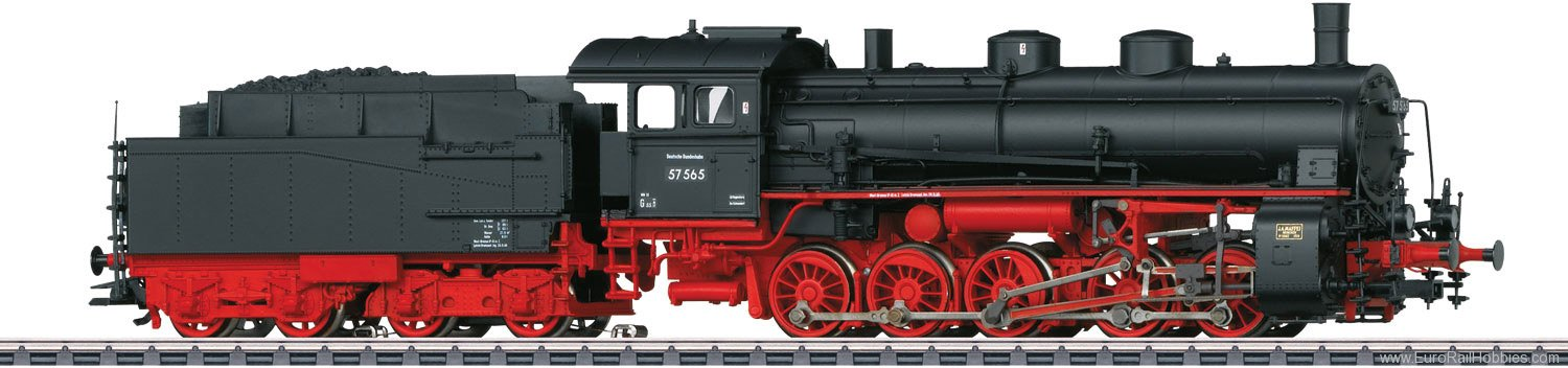 Marklin 39554 DB Class 57.5 Steam Freight Locomotive with T