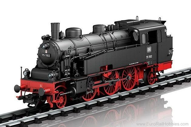 Marklin 39753 DB BR75.4 Steam Tank Locomotive (2017 Insider
