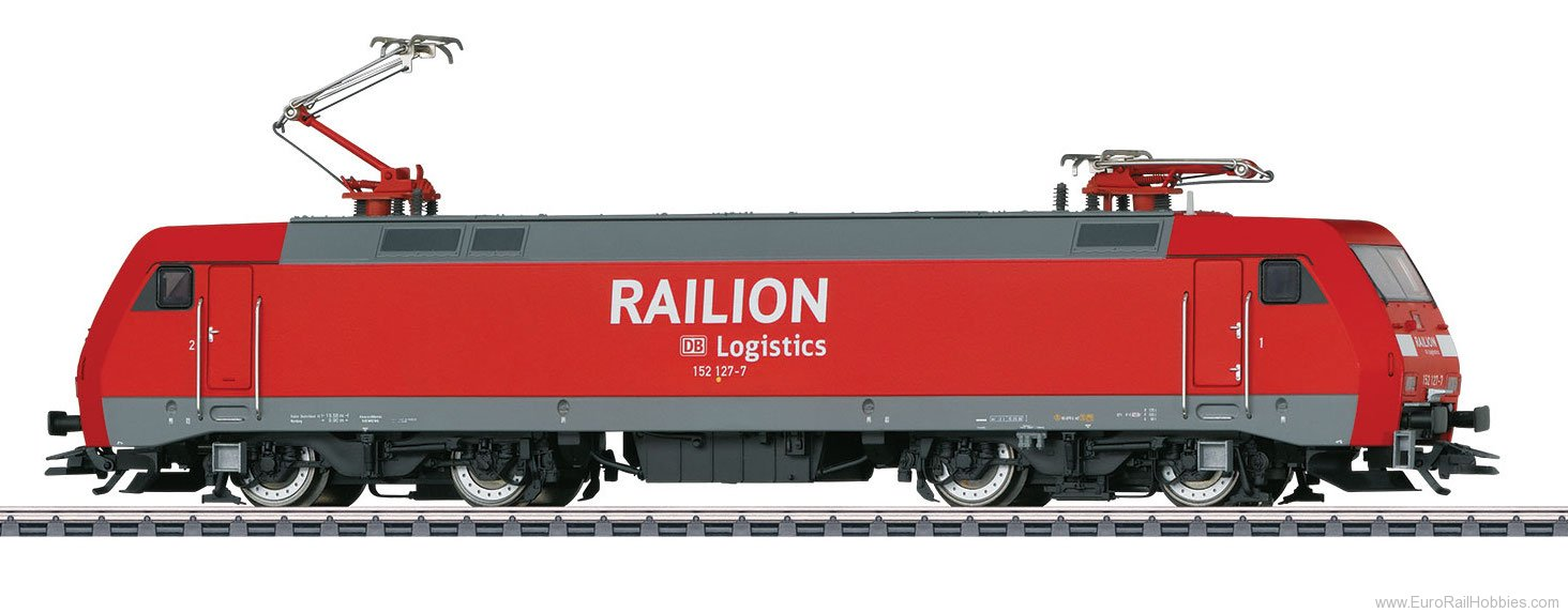 Marklin 39851 Railion Class 152 Electric Locomotive, MFX+ w