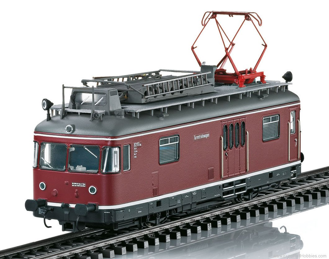 Marklin 39974 DB TVT Powered Catenary Maintenance Rail Car,