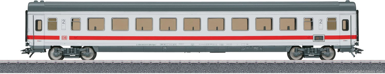 Marklin 40501 Intercity Express Train Passenger Car, 2nd Cl