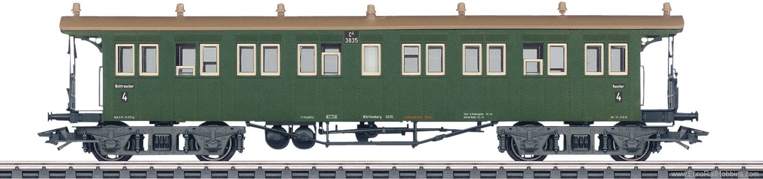 Marklin 42143 Type C4 Express Train Open Platform Passenger