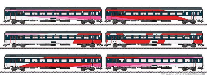 Marklin 42648 NS Express Train Passenger 6-Car Set.