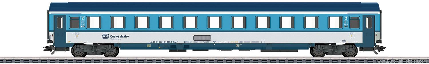 Marklin 42745 CD Bmz 235 Passenger Car, 2nd Class