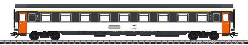 Marklin 43280 SNCF Eurofima type A9u Passenger Car (New Too