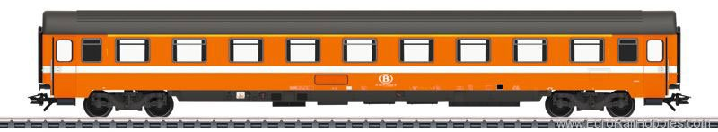 Marklin 43510 Eurofima Passenger Car (Factory Sold Out)